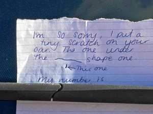 This note about a 'tiny scratch' made a big impact