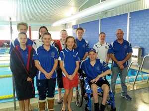 Swim team made waves at championships