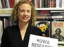 Wesfarmers Chair in Australian History, School of Humanities at the University of Western Australia, Professor Jane Lydon.
