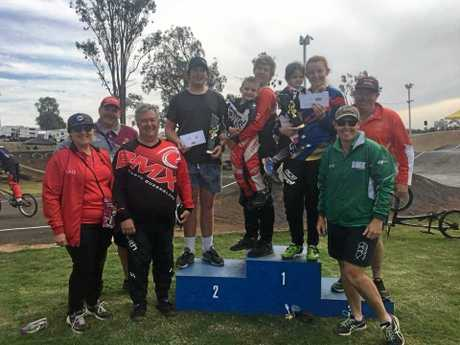 Proserpine riders and officials.