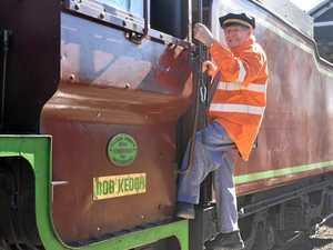 All aboard the Bob Keogh