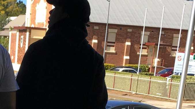 A teenager leaves court after being sentenced over multiple assault and robbery offences.