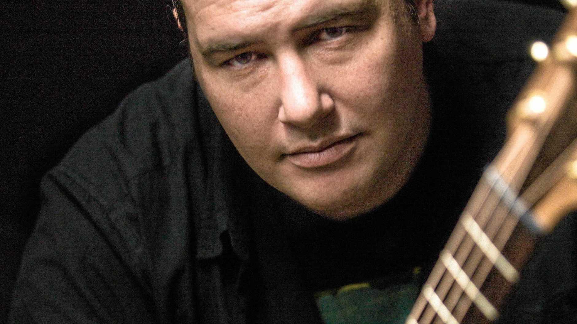 TOURING: Blues artist Lloyd Spiegel.