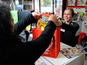 Small businesses prepare for plastic bag ban
