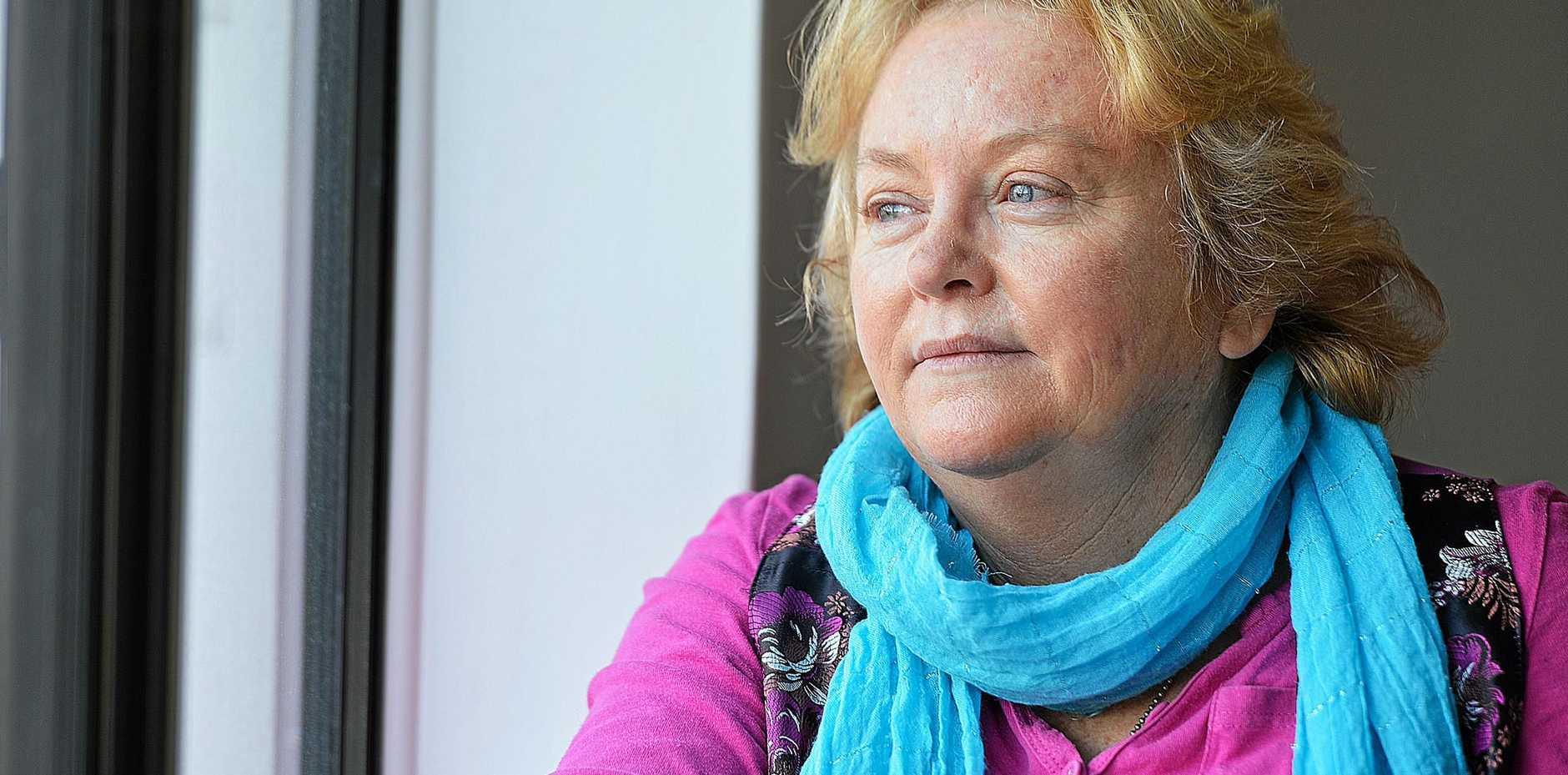 STILL FIGHTING: Imbil's Kerri Saint says forced adoption victims are still the forgotten people.