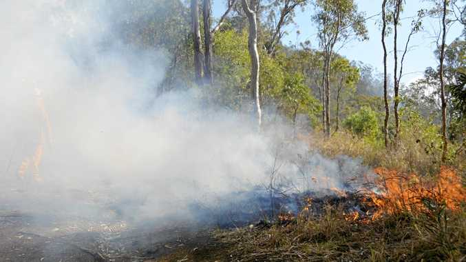 Lockyer Valley back-burn expected to last days