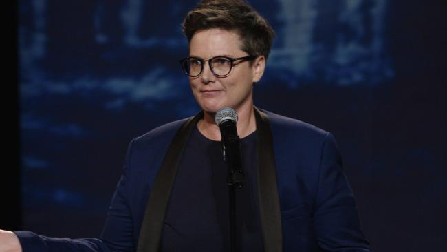 Hannah Gadsby in Nanette. Pciture: Netflix