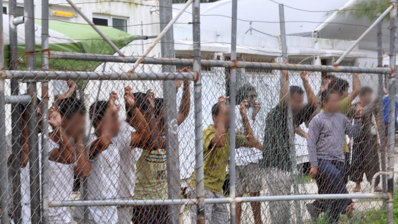 Australia doesn't exactly have the best track record when it comes to immigration as this 2016 photo depicting asylum seekers at the Manus Island detention centre demonstrates.
