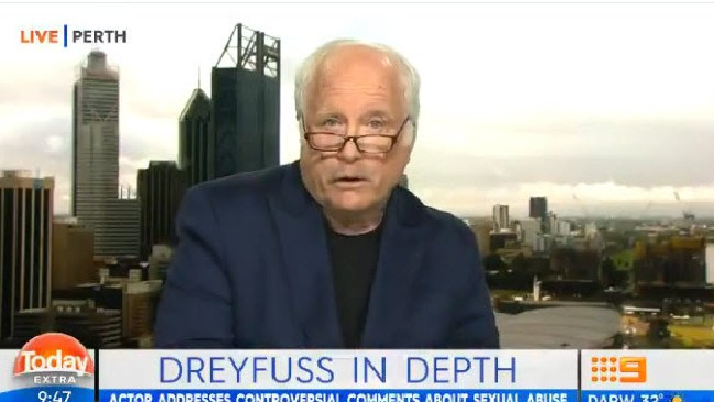 Richard Dreyfuss sounds off on Today.