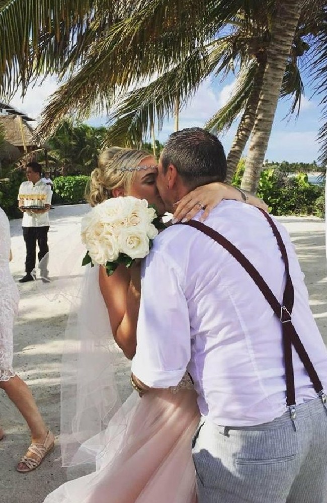 Scot Andy Mitchell married Meaghan in June in a romantic ceremony in Mexico, but said he was heartbroken when he found out she had been cheating on him.