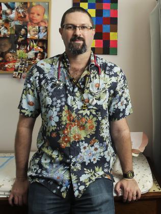 Professor David Coman. Picture: Mark Cranitch.