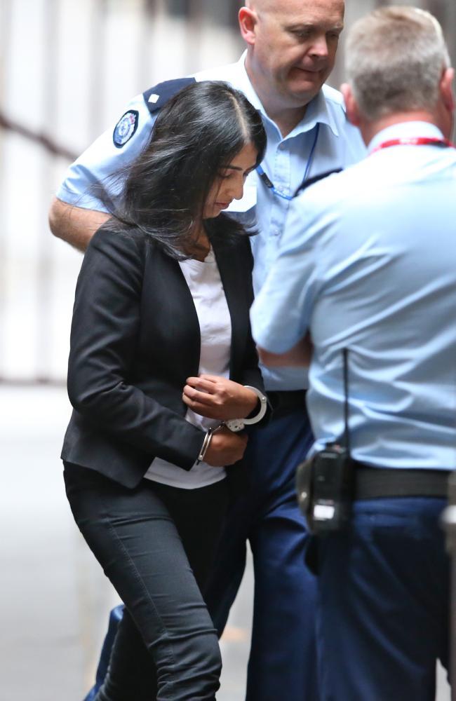 Sofia Sam will spend at least 18 years in prison. Picture: David Crosling