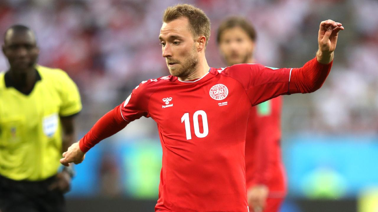 Denmark's game revolves around Christian Eriksen. Picture: Clive Mason/Getty Images