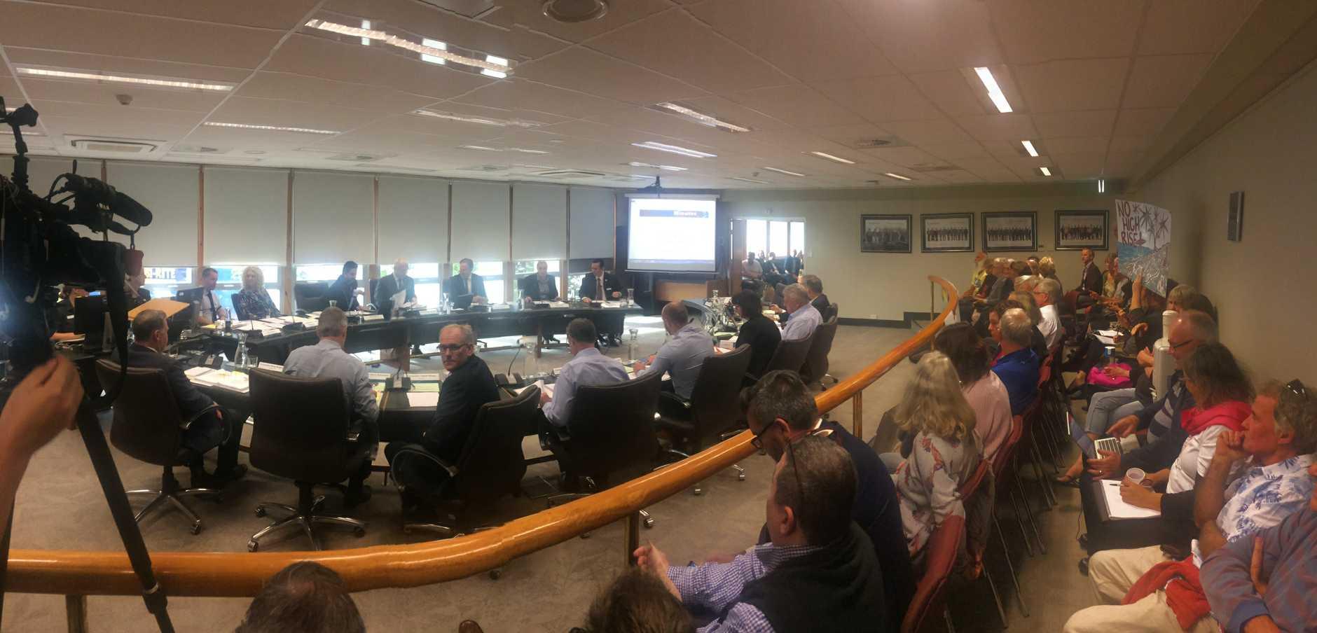 Sekisui meeting begins at Sunshine Coast Council Nambour chambers