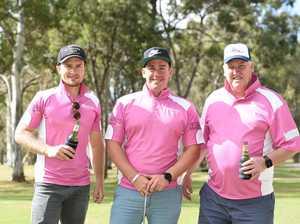 Fraser Coast Mates golf day - (L) Tyler Walsgott