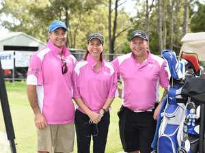 Fraser Coast Mates golf day - (L) Dean and Carla