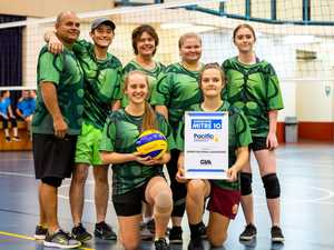Volleyball C Grade Grand Final Winner Incredibles