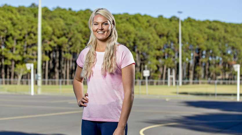 Queensland Firebirds netball player Gretel Tippett.