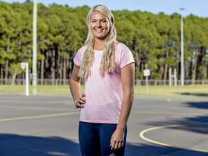 Young netballer is shooting for the stars
