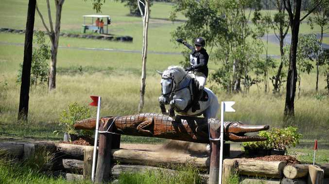 Olympic rider home from overseas to compete in Warwick