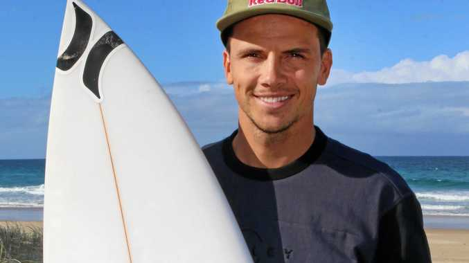 Swell times for Wilson on world tour