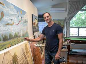 Artist's mission to find man who saved his life at Bargara