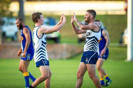 Australian Football - Gympie Cats vs The Waves Bundaberg - Jack Cross and Jesse Lawrence Gympie Cats