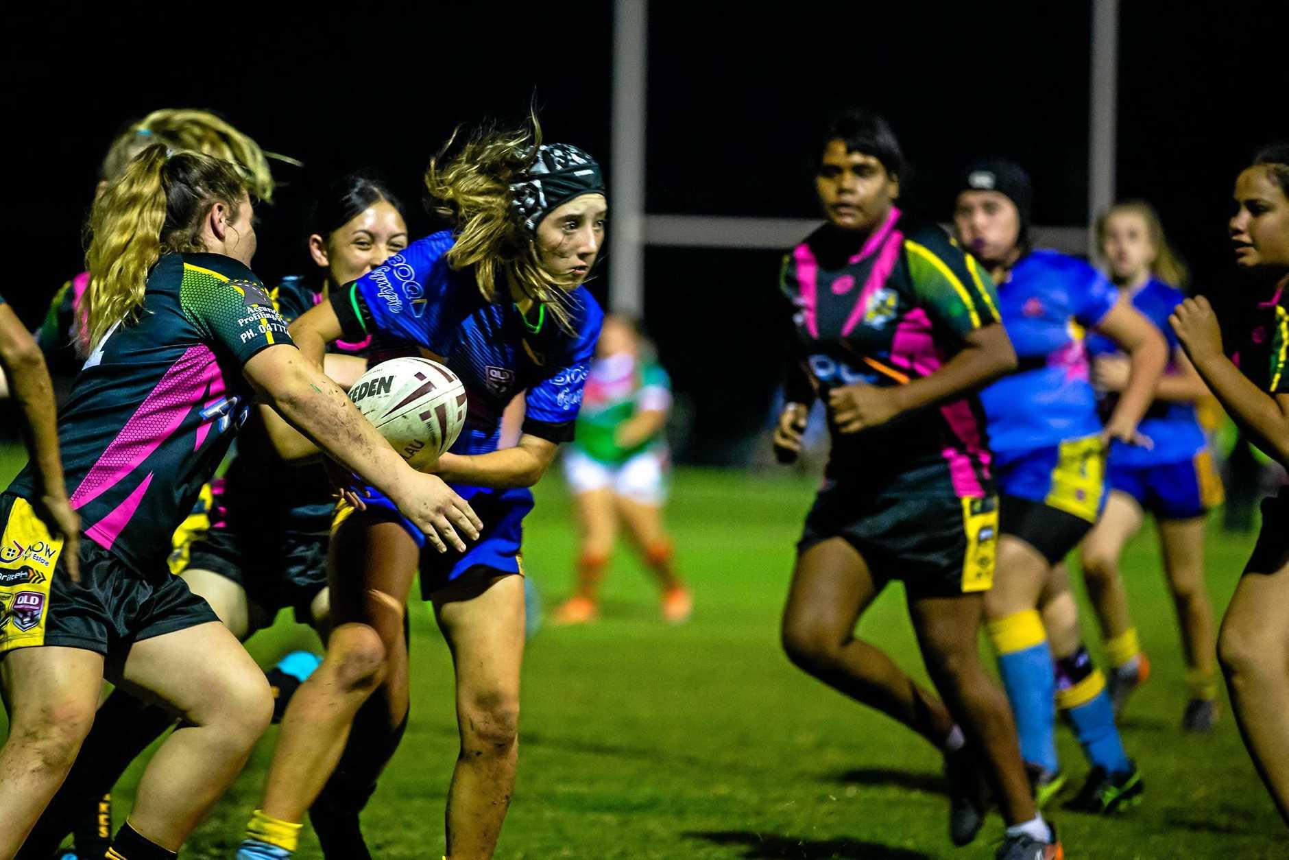 Junior Rugby League U/14 Girls - Gympie Devils vs Caboolture - Tia McLellan Gympie Devils