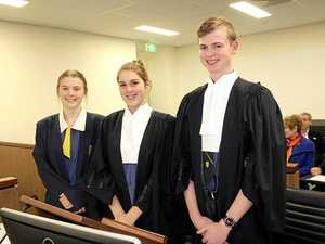 Budding legal eagles in engrossing courtroom drama