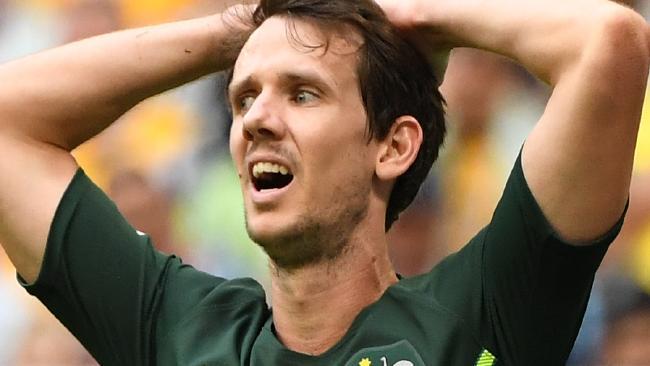 Robbie Kruse's reaction summed up Australia's day.