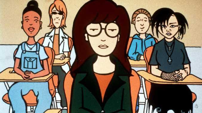 Scene from the animated TV show Daria. Picture: Supplied