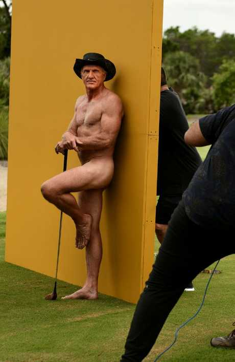 The 63-year-old posed in his birthday suit. Picture: Eric Lutzens /ESPN The Magazine