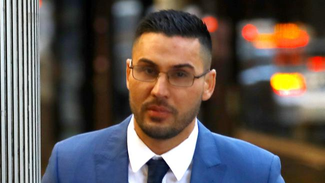 Salim Mehajer arrives at Downing Centre Local Court for sentencing on June 22, 2018.