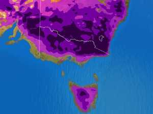 Map forecasts a freezing weekend