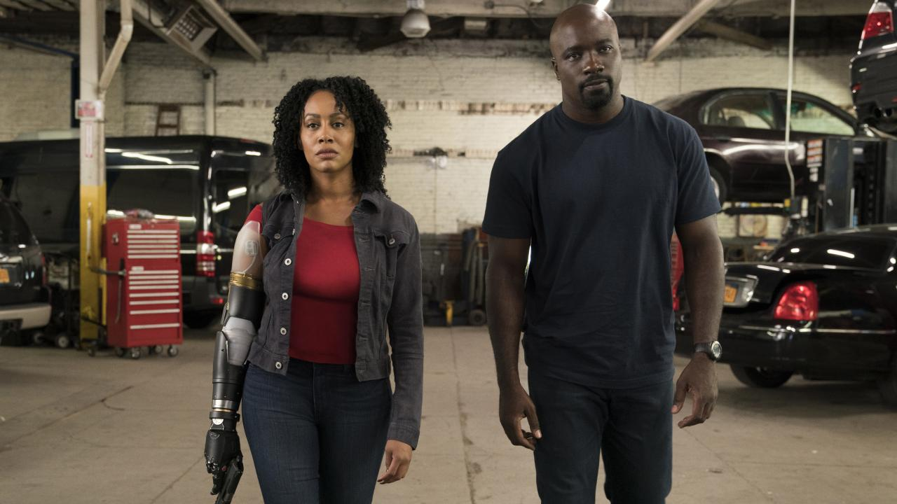 Scene stealer, Misty Knight