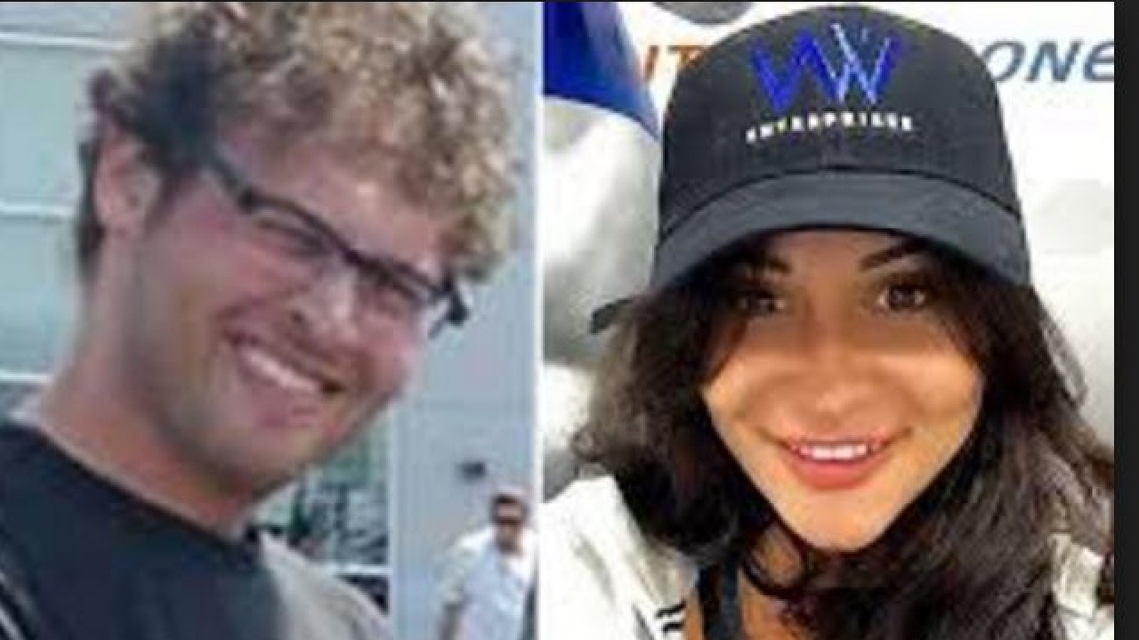 Canadian heir Blake Leibel (left) has been found guilty of murdering his girlfriend Iana Kasian.