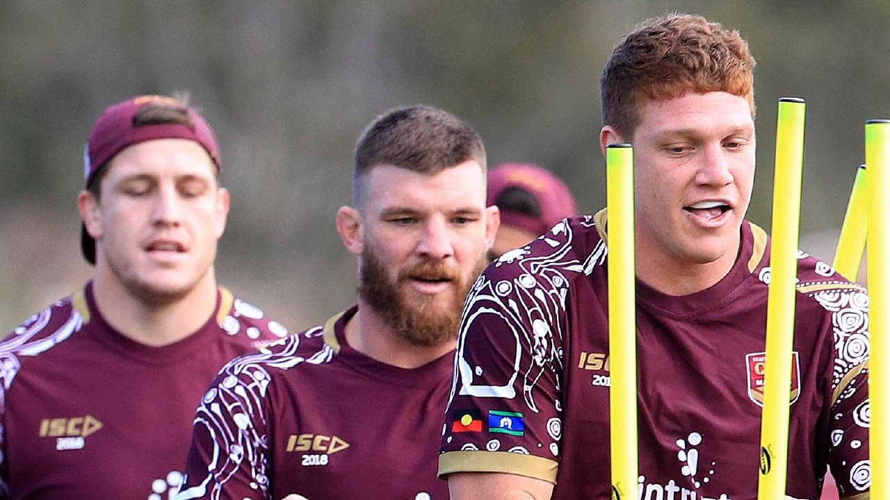 Queensland forwards are under pressure to lift in Origin II. Picture: Adam Head