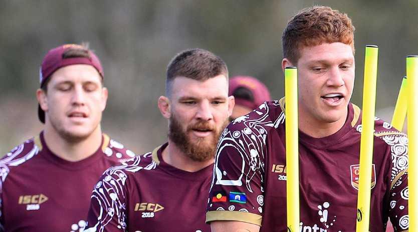 Queensland forwards are under pressure to lift in Origin II. Picture: Adam Head