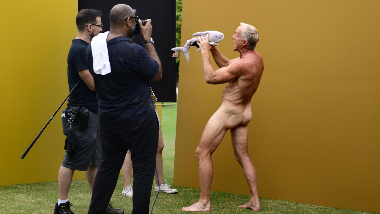 Greg Norman poses for ESPN's Body Issue. Picture: Eric Lutzens /ESPN The Magazine