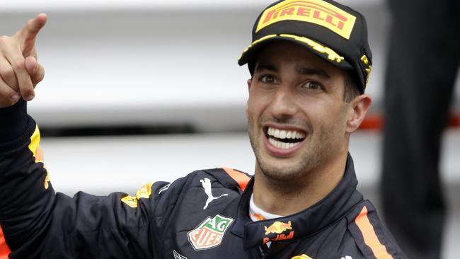 There's a lot for Daniel Ricciardo to like.