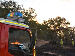 UPDATE: Grass fire burning at Gayndah