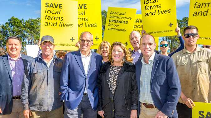 Labor has backed Kings Forest as the site for the new $534 million Tweed Valley Hospital.