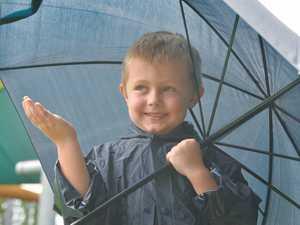 The start of the season's wet weather hit Mackay
