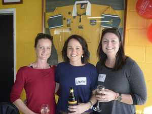 Bec Spears, Laurie Day and Tracie Riley enjoy a day