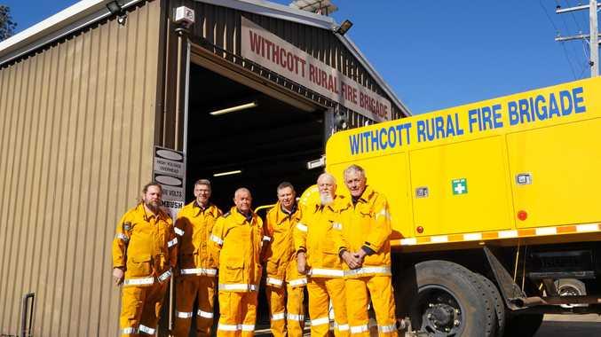 Town's rural fire service marks major milestone