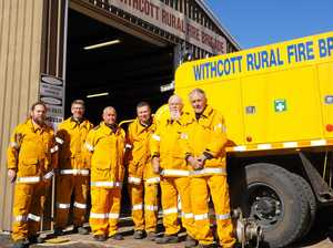 Town's rural fire service marks major milestone