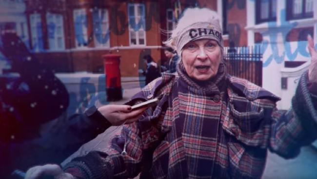 Vivienne Westwood/me at 77.