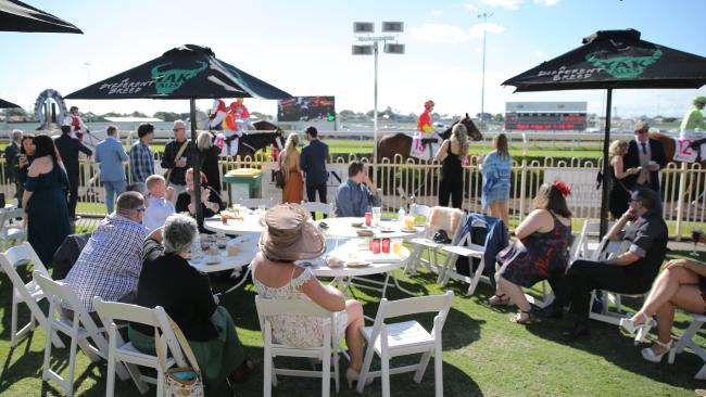 Tiara racing day at Doomben. Picture: Mark Cranitch