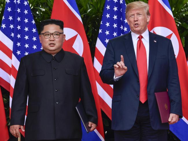 The two leaders met in North Korea earlier this year.