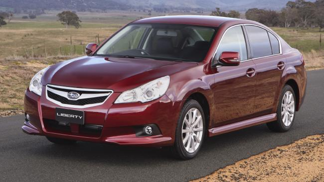 Subaru Liberty 2010: The 2.5i is the most common